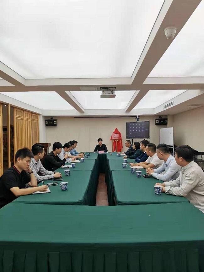 民建唐山市委青年工作委员会活动室揭牌仪式报道举行会议-1.jpg